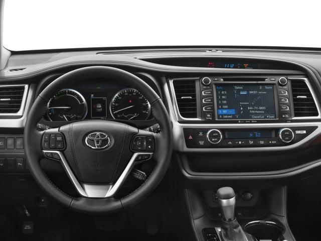 2017 Toyota Highlander Hybrid Le In Eureka Ca Mid City Motor World